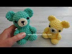 Free - Mini Bear amigurumi crochet pattern // Ravelry: by Sharon Ojala Crochet Teddy Bear Pattern, Crochet Bear, Crochet Gifts, Cute Crochet, Crochet Dolls, Amigurumi Patterns, Crochet Patterns, Knitting Patterns, Sharon Ojala