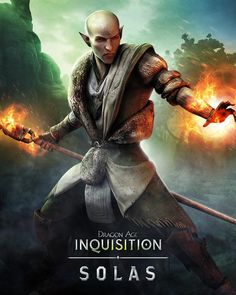 Dragon Age: Inquisition- Solas... my current romance project XD