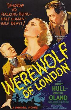 15 fabulosas películas de hombres lobo (primera parte): El hombre lobo de Londres (1935)