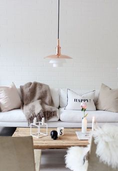 18 Cozy Scandinavian Decor Ideas You Need for Fall via Brit + Co