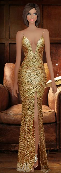 Covet Fashion, Girl Fashion, Evening Dresses, Formal Dresses, Chic Outfits, Special Occasion, Barbie, My Style, Illustration