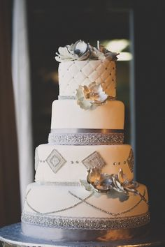 cake. - Click image to find more Weddings Pinterest pins