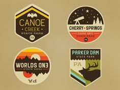 Too many patches 18/120, by Caleb Heisey, via Dribbble