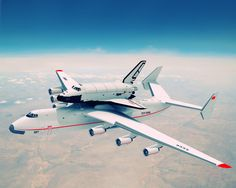 Antonov 225 with Russian Shuttle