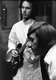 Ray Manzarek and Robby Krieger. Keyboardist and Guitarist of The Doors