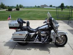 2003 Harley Davidson Electra Glide Classic, Price:$10,500. Port Byron, Illinois #hd4sale #motorcycle