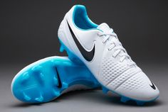 Nike Football Boots - Nike CTR360 Trequartista III FG - Firm Ground - Soccer Cleats - White-Gamma Blue