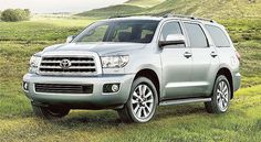 The 2017 Toyota Sequoia is the featured model. The Toyota Sequoia 2017 Limited image is added in the car pictures category by the author on Aug Mercedes Benz Suv, Mercedes G Wagon, Bentley Continental Gt, My Dream Car, Dream Cars, Toyota Suv Models, Toyota Used Cars, Volkswagen Routan, Sequoia