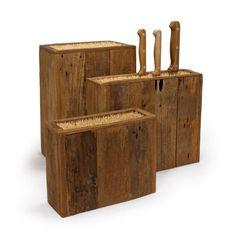 Eco Wood Knife Blocks | dotandbo.com