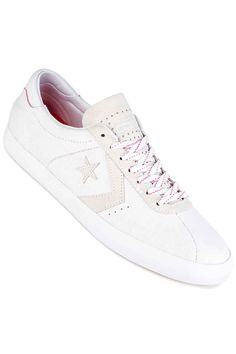 a646d60bcd00 Converse Breakpoint Pro Ox Shoes in white white pink glow