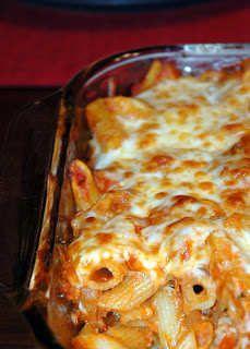 Italian Sausage Baked Pasta