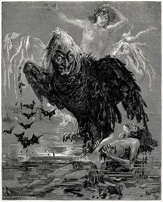 Oswaldo Tofani, from Les mystères de Paris (The Mysteries of Paris), by Eugène Süe, Paris, 1880