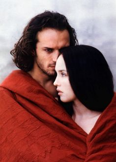 Isabelle Adjani and Vincent Perez in La Reine Margot,a 1994 French period film directed by Patrice Chéreau, based on the 1845 historical novel by Alexandre Dumas.
