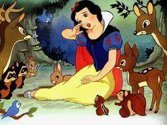 Blanche-Neigr et ses amis de la forêt