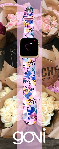 BE LOVE. Fashion Apple Watch Band @goviloop  #applewatch #love #young #hope #flowers #pinkcolor #fashionaccessories