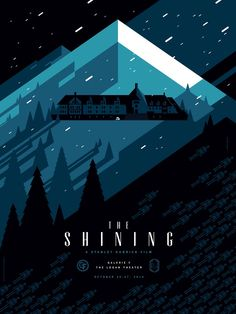 The Shining - movie poster - Tom Whalen