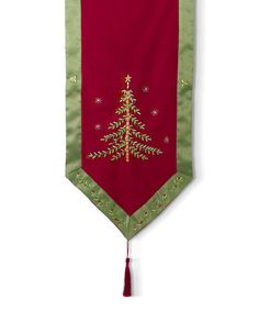 Loving this Holiday Impressions Table Runner on #zulily! #zulilyfinds