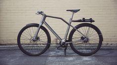 connected, 3D-printed titanium, lifestyle bike