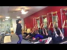 Pilates Tower Class - Mat work with Magic Circle - YouTube