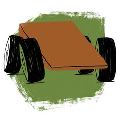 Step 4 for Making a Fast Pinewood Derby Car