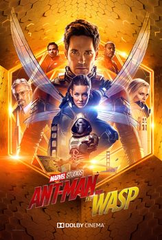 """Here's a look at the exclusive Dolby poster for Marvel Studios' """"Ant-Man and The Wasp""""! See the film in theaters July Here's a look at the exclusive Dolby poster for Marvel Studios' """"Ant-Man and The Wasp""""! See the film in theaters July Ant Man Poster, New Poster, Hero Marvel, Marvel Dc, Vespa Marvel, Heros Comics, Dc Comics, Deadpool Comics, Ant Man 2"""