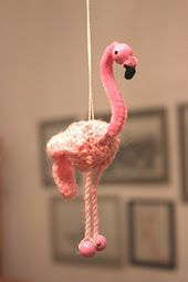Pink Flamingoes - free crochet patterns