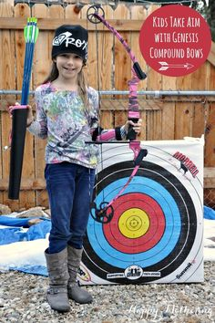 Are you looking for a fun new way to help your kids connect with nature? A Genesis bow can help them develop patience and focus while being out in nature! #GenesisBows #ad