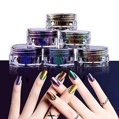 PrettyDiva Mirror Nail Powder Kit, 6 Colors Metallic Chro... https://www.amazon.com/dp/B06XF19VK2/ref=cm_sw_r_pi_dp_x_et-bzbBD7FVYJ