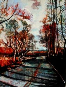 streetscapes_approaching french broad final | Shellie Lewis Dambax
