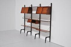 Webe bookcase unit system Louis v Teeffelen 1960 | Mass Modern Design