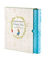 The complete Tales of Peter Rabbit by Beatrix Potter-the complete unabridged collection of all 23 Peter Rabbit tales and verses along with original illustrations in one deluxe volume. Hardcoverw/dust jacket-400 pages. $40.00