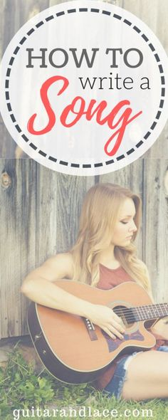 How to Write a Song. Songwriting Tips. Plus free songwriting worksheets! Acoustic Guitar Lessons, Guitar Tips, Guitar Songs, Acoustic Guitars, Guitar Chords, Guitar Art, Guitar Scales, Guitar Tattoo, Hobbies For Women