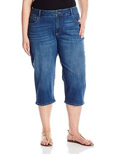 Riders by Lee Indigo Women's Plus-Size Ultra Soft Denim Capri  http://www.effyourbeautystandarts.com/riders-by-lee-indigo-womens-plus-size-ultra-soft-denim-capri/