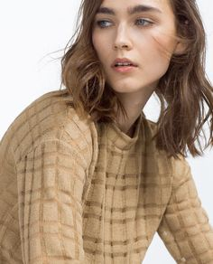 Image 4 of JACQUARD KNIT TOP from Zara
