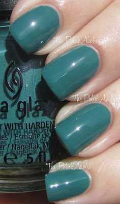 Exotic Encounters from China Glaze's Fall 2012 On Safari Collection