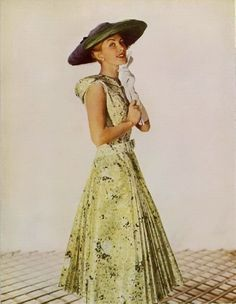 Lanvin 1955 - the perfect dress for a vintage summer look...
