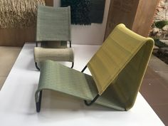 An Exhibition of Modern Guatemalan Design - Design Milk Lounge Design, Chair Design, Ideas Terraza, Furniture Decor, Furniture Design, Folding Seat, Diy Chair, Take A Seat, Living Room Chairs