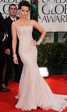 Kate Beckinsale - always breathtakingly beautiful. She's done it again this year in Roberto Cavalli.