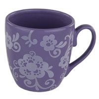 Repin if you support helping animals! $5.00 for a purple paw floral mug. Each purchase funds 14 bowls of food.  For a great cause!
