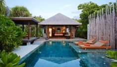 Anantara Kihavah Villas: All villas come with a private pool; here's a spacious Beach Pool Villa.