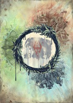 2nd place winner of the Elder Scrolls Online poster challenge: Alba Palacio, from Spain