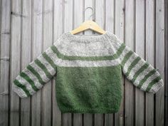 Baby Cardigan Knitting Pattern, Baby Knitting Patterns, Knitting Stitches, Crochet Baby Clothes, Baby Kind, Knitting For Kids, Striped Knit, Baby Wearing, Cable Knit
