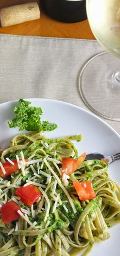 kale pesto recipe from Cooking Chat. Sure to get even the skeptics eating their greens!