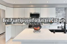 Painting your own cabinets can be a hard task. You need a guide to follow and you need the best paint sprayer for kitchen cabinets. We can provide you both of them. Best Paint For Kitchen, Best Kitchen Cabinets, Kitchen Paint Colors, Paint Colors For Home, Painting Kitchen Cabinets, Best Paint Sprayer, Hvlp Paint Sprayer, Using A Paint Sprayer, Best Cabinet Paint
