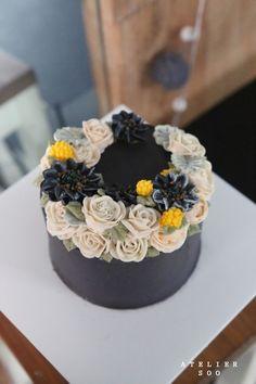 더스티밀러. 블랙해바라기 : flowercake. soocake : 네이버 블로그