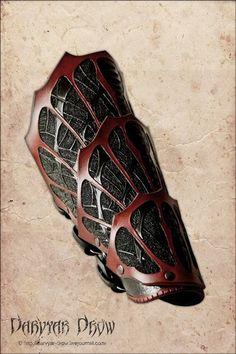 Dark elf bracer by Darvyar.deviantart.com on @deviantART