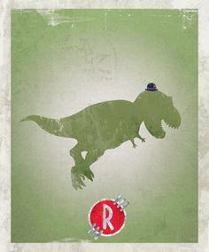 Minimalist Movie Posters by Ben Ross - Meet the Robinsons - www.benjidraws.com