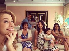 And when the cast of <i>Jane the Virgin</i> was the best TV family ever.