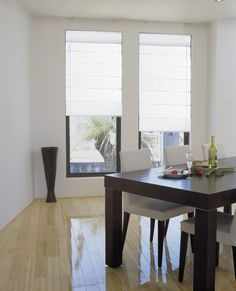 Roman blinds from Kresta are available in Albany, Christchurch, Henderson, Mt Wellington, and Wellington Metro stores. Enjoy a contemporary casual look with soft layered pleat or flat panel. Indoor Blinds, Timber Battens, Roman Blinds, Home Look, Window Coverings, Living Area, House Design, Curtains, Sorrento