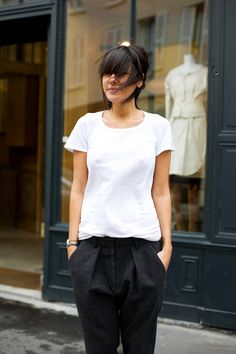 love this simple + classic look.